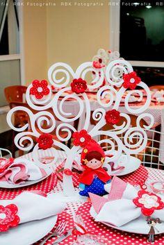 Ideas de Fiesta: Capuchinho vermelho