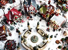 christmas village displays for home setup | ... always looks a lot like Christmas in Clayton Township home | MLive.com