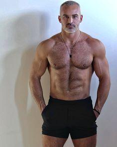 Beautiful Men Faces, Gorgeous Men, Hairy Men, Bearded Men, Handsome Older Men, Shirtless Hunks, Hot Hunks, Muscular Men, Mature Men