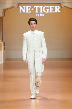 Male Fashion Trends: NE•TIGER Haute Couture Spring/Summer 2014 - Mercedes-Benz Fashion Week China