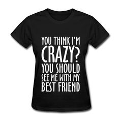 We now sell You think i'm Crazy? here: http://infinite-clothing.com/products/you-think-im-crazy?utm_campaign=social_autopilot&utm_source=pin&utm_medium=pin  #follow4follow #fashionpost #beauty #dresses #womensfashion #hairs #blogger #men