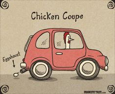 This isn't a card, but it has a chicken and I needed a laugh when I saw it so I decided to post it in case I need another laugh.