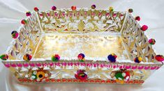 Wooden Platters, Marriage Decoration, Mehndi, Wedding Designs, Gingerbread, Wedding Gifts, Wedding Decorations, Packing, Indian