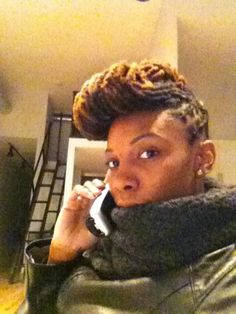 My #janellemonet style courtesy of Locs and Chops NYC