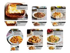 Tesco Finest Italian Ready Meals on Packaging of the World - Creative Package Design Gallery