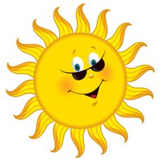 """(no words - """"Transparent Cartoon Sun PNG Clipart Picture"""") --Smiley Face"""