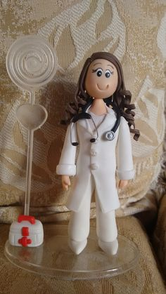enfermeira de biscuit.