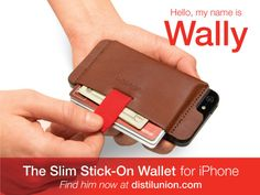 Wally: The iPhone Wallet. Reimagined.'s video poster