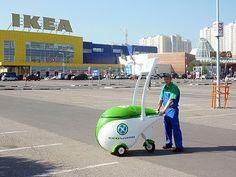 GeoWash operator working at IKEA in Moscow