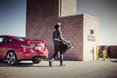 Driving your Civic Si to the gym is motivation enough to work out.