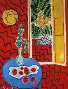 Henri Matisse  ~ Red Interior