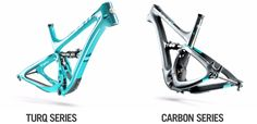 2017 Yeti Carbon Frames