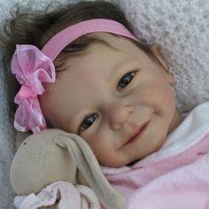 ~Doves Nursery Sweet Reborn Baby Girl ~ A Linde Scherer 'Rieke' Sculpt ~ in Dolls & Bears, Dolls, Reborn | eBay