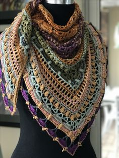 Lost in time shawl by Mijo Crochet http://www.ravelry.com/patterns/library/lost-in-time.  Free crochet shawl pattern
