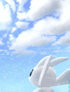 Look at the sky with the snow by BlackOnTrack