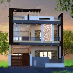 House Balcony Design, House Outer Design, 3 Storey House Design, Modern Small House Design, House Outside Design, Modern Exterior House Designs, Latest House Designs, Bungalow House Design, Modern Bungalow