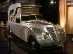 Dieselpunk: 1934 Thompson Housecar Here's one for my Son