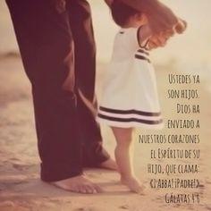 #Daddy #HeCaresOfMe ¿A quién temeré?. El rey de reyes, el creador del cielo me permite llamarlo papá <3 Mediante la fe en Cristo. Eternal love. += <3 #Adopted