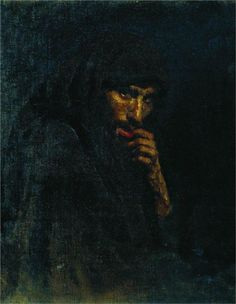 Judas, 1885 Ilya Repin