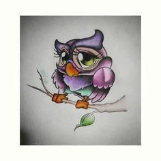 new school owl drawings - Google Search