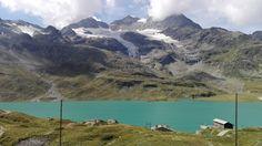Piz Bernina seen from the Bernina Pass Switzerland [OC][3.7442.102]