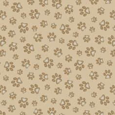Dog Fabric ES Sand Scribbles Paw Fabric 4823