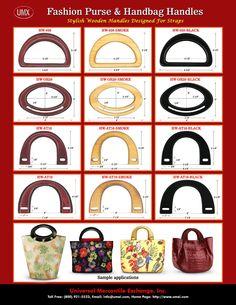 UMX Catalogues - Stylish Fashion Purse and Handbag Hardware - Wooden Handles