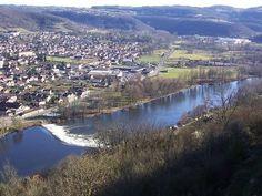 Capdenac-le-Haut vue sur le Lot Village classé plus beaux village de France guide du tourisme dans le Lot Midi-Pyrénées