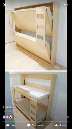 Murphy bunks for cottage