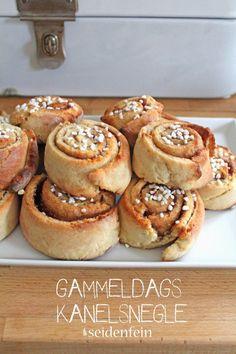 seidenfeins Dekoblog: Gammeldags kanelsnegle * Zimtschnecken * danish cinnamon cakes