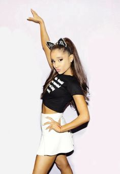 ariana grande cat ears - Google Search