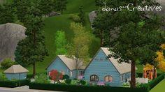 Julia house by Jana - Sims 3 Downloads CC Caboodle