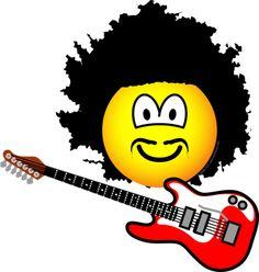 Jimi hendrix emoticon