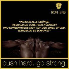 Liebe es oder hasse es aber ignorieren kannst du es nicht! 😈  #IronKing #iron_king_body #bodyqueen #onlinetrainingsplan #trainingsplan #trainingsplan #sport #workout #ik #king #muscle #individual #health Iron, King, Workout, Sport, Motivation, Instagram Posts, Movie Posters, Hate, Training Plan