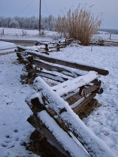 Modern Missouri Pioneers: Winter projects