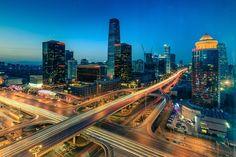 Guomao Bridge by Dreamer zs on 500px