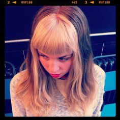 My Little Pony Hair, bleachlondon: Hair by Alisha Dobson (Taken with… - Modern Fringe Hairstyles, Hairstyles With Bangs, Pretty Hairstyles, Dyed Bangs, Dyed Hair, Green Hair, Blue Hair, Two Toned Hair, Multicolored Hair