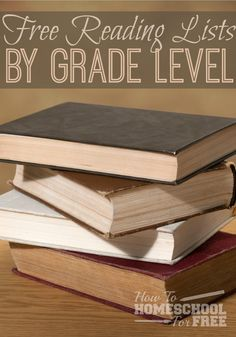 Print this FREE reading list by grade!