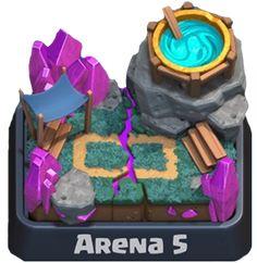 Macam-macam Arena yang Ada di Clash Royale