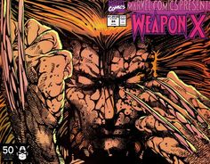 Barry Windsor-Smith, 1991. This series BWS did about Weapon X, might be the best thing to come out of Marvel Comics Presents, which was never very good. BWS made a a big contribution here to the mythology of Wolverine. -Darkhearst. #weaponx #wolverine #marvel #xmen #barrywindsorsmith #comicbookart #marvelcomicspresents