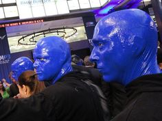 Blue Man Group at TIM's IPO | Photo by Marcel Salim