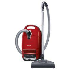 Buy Miele S8320 Cat & Dog Premium Cylinder Vacuum Cleaner, Mango Red Online at johnlewis.com