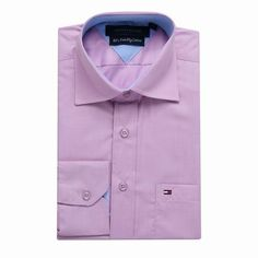 Tommy Hilfiger Long Sleeve Dress Shirts Light Purple Free Shipping Long Sleeve Shirt Dress, Dress Shirts, Tommy Hilfiger Shirts, Light Purple, Dresses With Sleeves, Free Shipping, Mens Tops, Fashion, Moda