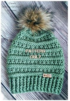Back in January, I shared a pattern for a crocheted copy cat version of a knitted copy cat version of those cute CC beanies, dubbed the 3mL Beanie (for nerdy reasons explained in the original post )....