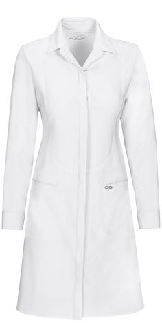 "This chic, tailored-fit lab coat features a revolutionary antimicrobial fabric technology that provides long-lasting freshness and reliable protection against unwanted bacteria. Infinity by Cherokee 40"" Lab Coat from Cherokee Scrubs at Cherokee 4 Less"