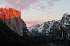 Sunset at Tunnel View. OC Yosemite National Park CA [5184 x 3456]