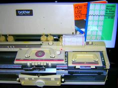 Brother knitting machine KH 891 + 850 Ribber Package complete serviced