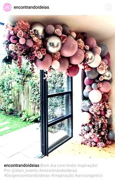 Top 20 Creative Balloons Wedding Decor Ideas If you think that balloons are just for birthdays, you will certainly think again after you see these 20 awesome balloon wedding ideas. From fun backdrops for Wedding Entrance, Entrance Decor, Entryway Decor, Birthday Balloon Decorations, Birthday Balloons, Wedding Decorations, Wedding Ideas, Pink Decorations, Altar