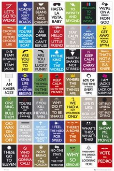 Movie quotes :) Napoleon Dynamite, Toy Story, LOTR, Star Wars, and more...