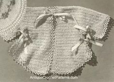 Vintage Infant Sacque